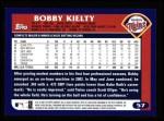 2003 Topps #57  Bobby Kielty  Back Thumbnail