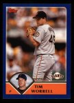 2003 Topps #553  Tim Worrell  Front Thumbnail