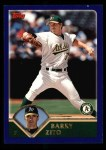 2003 Topps #180  Barry Zito  Front Thumbnail