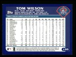 2003 Topps #188  Tom Wilson  Back Thumbnail