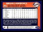 2003 Topps #157  Brian Lawrence  Back Thumbnail