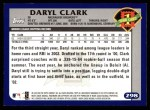 2003 Topps #298   -  Daryl Clark First Year Back Thumbnail