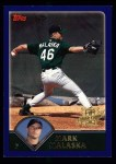 2003 Topps #316   -  Mark Malaska First Year Front Thumbnail