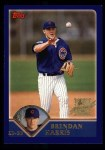 2003 Topps #308   -  Brendan Harris First Year Front Thumbnail