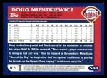 2003 Topps #588  Doug Mientkiewicz  Back Thumbnail