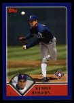2003 Topps #85  Kenny Rogers  Front Thumbnail