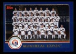 2003 Topps #647   Montreal Expos Team Front Thumbnail