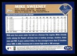 2003 Topps #585  Mike Sweeney  Back Thumbnail