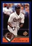 2003 Topps #509  Gary Matthews Jr.  Front Thumbnail