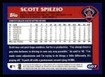 2003 Topps #607  Scott Spiezio  Back Thumbnail