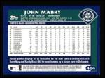 2003 Topps #464  John Mabry  Back Thumbnail