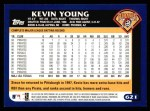 2003 Topps #621  Kevin Young  Back Thumbnail