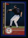 2003 Topps #708   -  Jason Jennings Award Winners Front Thumbnail