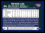 2003 Topps #551  Travis Lee  Back Thumbnail