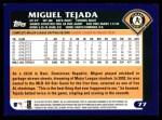 2003 Topps #77  Miguel Tejada  Back Thumbnail