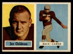 1957 Topps #100  Joe Childress  Front Thumbnail