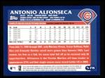 2003 Topps #578  Antonio Alfonseca  Back Thumbnail