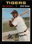 1971 O-Pee-Chee #669  Ike Brown  Front Thumbnail