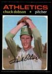 1971 O-Pee-Chee #238  Chuck Dobson  Front Thumbnail