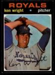 1971 O-Pee-Chee #504  Ken Wright  Front Thumbnail