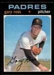 1971 O-Pee-Chee #153  Gary Ross  Front Thumbnail