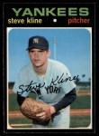 1971 O-Pee-Chee #51  Steve Kline  Front Thumbnail