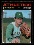 1971 O-Pee-Chee #45  Catfish Hunter  Front Thumbnail
