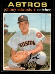 1971 O-Pee-Chee #44  Johnny Edwards  Front Thumbnail