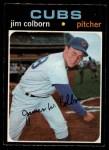 1971 O-Pee-Chee #38  Jim Colborn  Front Thumbnail