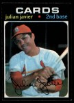 1971 O-Pee-Chee #185  Julian Javier  Front Thumbnail