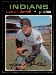 1971 O-Pee-Chee #150  Sam McDowell  Front Thumbnail
