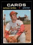 1971 O-Pee-Chee #257  Nelson Briles  Front Thumbnail