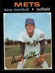 1971 O-Pee-Chee #259  Dave Marshall  Front Thumbnail