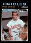 1971 O-Pee-Chee #249  Chico Salmon  Front Thumbnail