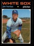 1971 O-Pee-Chee #345  Joe Horlen  Front Thumbnail