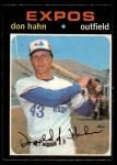 1971 O-Pee-Chee #94  Don Hahn  Front Thumbnail