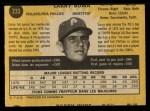 1971 O-Pee-Chee #233  Larry Bowa  Back Thumbnail