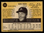 1971 O-Pee-Chee #359  Ron Reed  Back Thumbnail