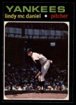 1971 O-Pee-Chee #303  Lindy McDaniel  Front Thumbnail
