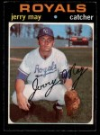 1971 O-Pee-Chee #719  Jerry May  Front Thumbnail