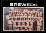 1971 O-Pee-Chee #698   Brewers Team Front Thumbnail