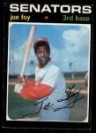 1971 O-Pee-Chee #706  Joe Foy  Front Thumbnail