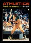 1971 O-Pee-Chee #468  Frank Fernandez  Front Thumbnail