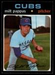 1971 O-Pee-Chee #441  Milt Pappas  Front Thumbnail