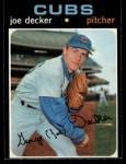 1971 O-Pee-Chee #98  Joe Decker  Front Thumbnail