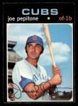 1971 O-Pee-Chee #90  Joe Pepitone  Front Thumbnail
