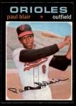 1971 O-Pee-Chee #53  Paul Blair  Front Thumbnail