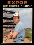 1971 O-Pee-Chee #31  John Bateman  Front Thumbnail