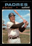 1971 O-Pee-Chee #214  Al Ferrara  Front Thumbnail