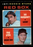 1971 O-Pee-Chee #176   -  Doug Griffin / Bob Montgomery Red Sox Rookies Front Thumbnail
